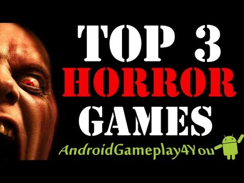 Top 3 Best Android Horror Games 2013