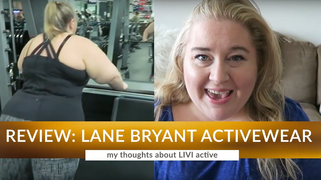 b8223775831 Review  Lane Bryant LIVI Plus Size Activewear - YouTube