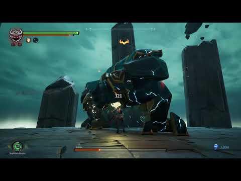 Darksiders III Keepers Of The Void Boss Battle! |