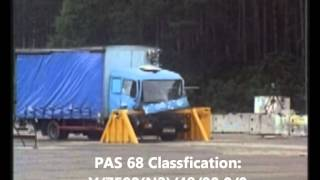 High Security PAS 68 Barriers crash test Thumbnail