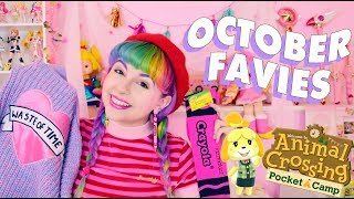OCTOBER FAVIES ♡ LAZY OAF, ANIMAL CROSSING POCKET CAMP, & MORE!
