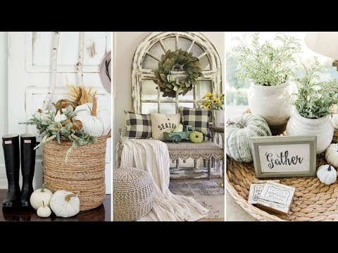 ❤DIY Farmhouse style Neutral fall decor Ideas❤ | Home decor & Interior design| Flamingo Mango