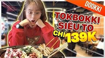 Lẩu tokbokki siêu đỉnh chỉ với 139k    WHAT THE FOOD