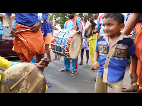Thappattam with childrens dance - Thappattam with College students dance Part 3