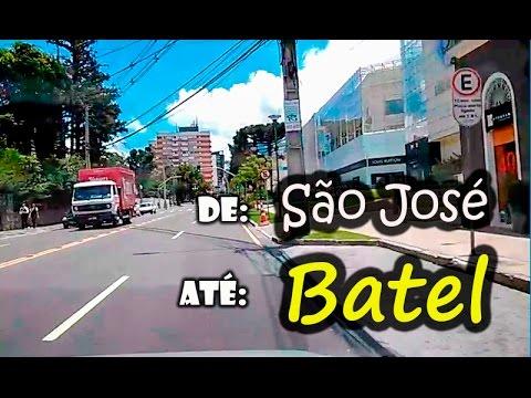 Você conhece o Batel em Curitiba? Venha comigo neste passeio de carro!