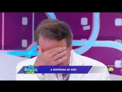 (HD) Homenagem do Domingo Legal para o Carlos Villagrán, o Kiko do seriado Chaves - 14/04/2013