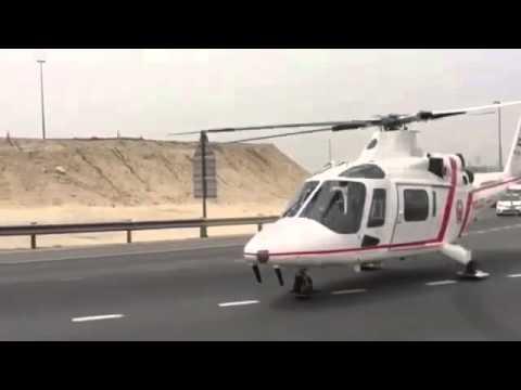 multiple vehicle crash on Sheikh Mohamed bin Zayed Road