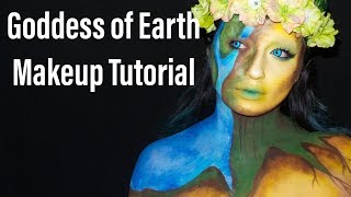 Goddess of Earth Makeup Tutorial/ MakeUpEnPointe