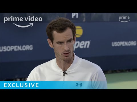 US Open: Andy Murray Interview   Prime Video