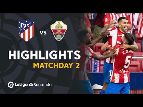 Resumen de Atlético de Madrid vs Elche CF (1-0)