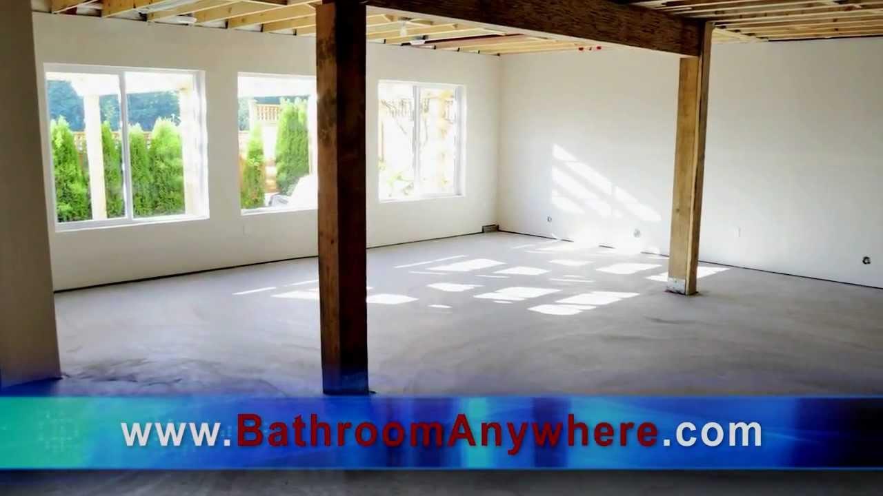 Bathroom Anywhere bathroom anywhere installation decisions - youtube