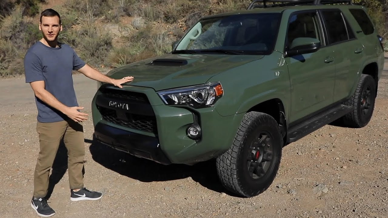 2020 Toyota 4runner Trd Pro Test Drive Video Review Youtube