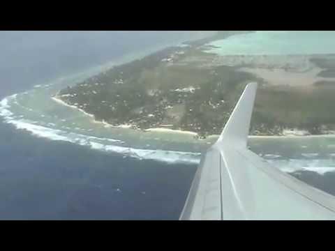 [pt 2] My Flight Departure from Tarawa Kiribati to Nadi in Fiji : 07/03/13