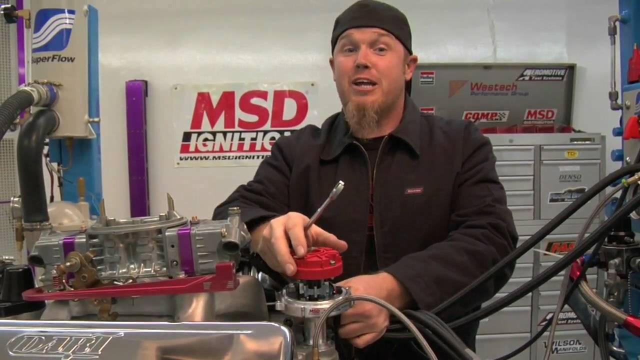 Msd 6al Wiring Diagram Hei Distributor Baldor 3 4 Hp Motor Installing A Part 1 - Youtube