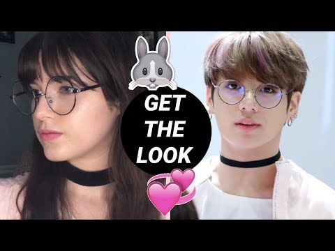 BTS Jungkook 방탄소년단 정국 Inspired Makeup Tutorial 🐰🍪