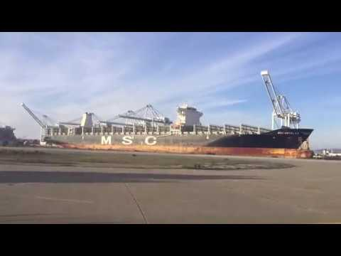 Port of Oakland Timelapse