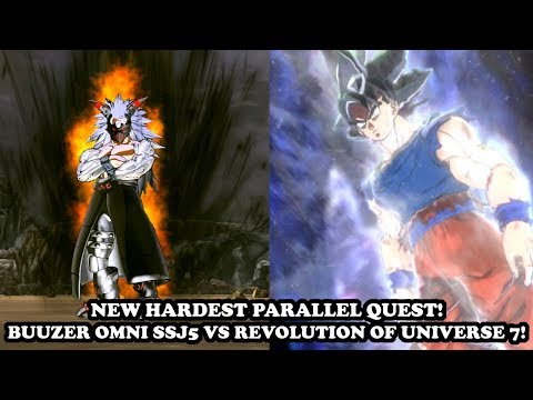"NEW HARDEST QUEST! STRONGEST CaC Buuzer Omni SSJ5 VS ""Revolution Of Universe 7""! DB Xenoverse 2 Mods"
