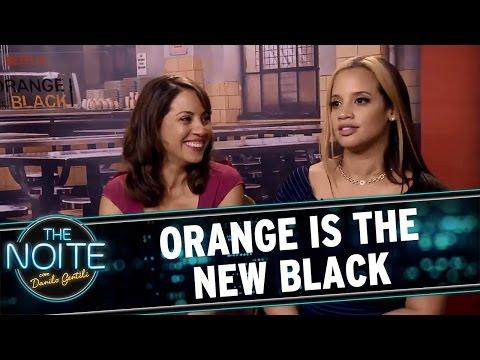 The Noite (21/06/16) - Entrevista com elenco de Orange Is The New Black