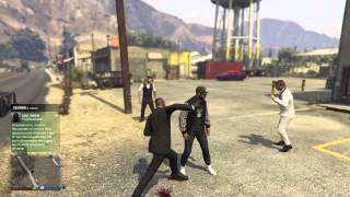 GTA V Bug: The immortal Black Shade | [PS4 ITA]