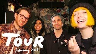 Tessa Violet - February Tour Diary!