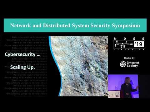 NDSS 2019 - Keynote: Modern Challenges For Cyber Defense - Dr. Deborah Frincke