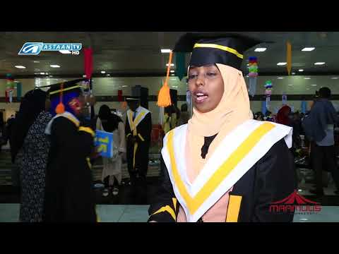 Benadir University 10th Graduation Ceremony and 15th Anniversary 2017