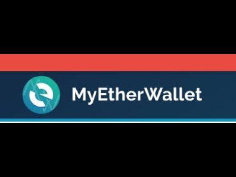 Добавляем токены на кошелек Myetherwallet и выводим на биржи