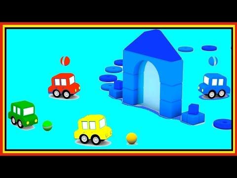 BLUE WORLD! Cartoon Cars Videos for Kids.Cartoons for Children.Kids Cars Cartoons. Learn Colors