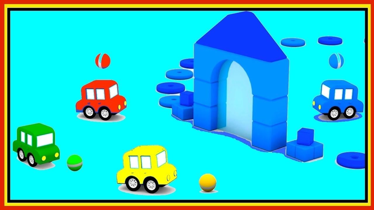 BLUE WORLD! Cartoon Cars Videos For Kids.Cartoons For