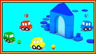 MAVİ DÜNYA! Çizgi film Çocuklar için Video Araba.Çocuklar için çizgi roman.Çocuklar Çizgi Film Arabalar. Öğrenmek Renkler
