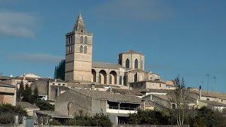 Spain '15 - Balearic Island Mallorca -  provincial village Sineu with weekly market