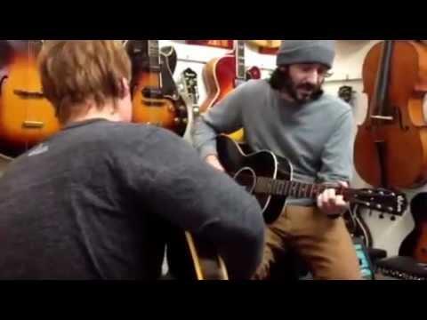 Steve and Dave at Lark Street Music