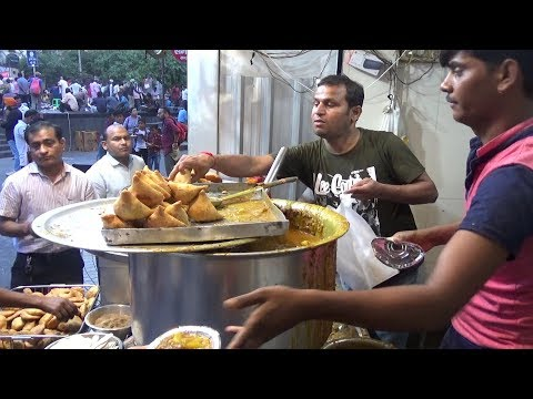 Sri Hanuman Kachori Famous Shop Besides Hanuman Temple Delhi | Street Food India