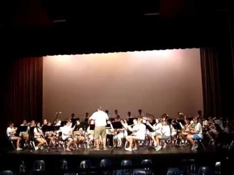 NSMP2014 Concert Band - March On, America! (A Medley of Patriotic March Themes)