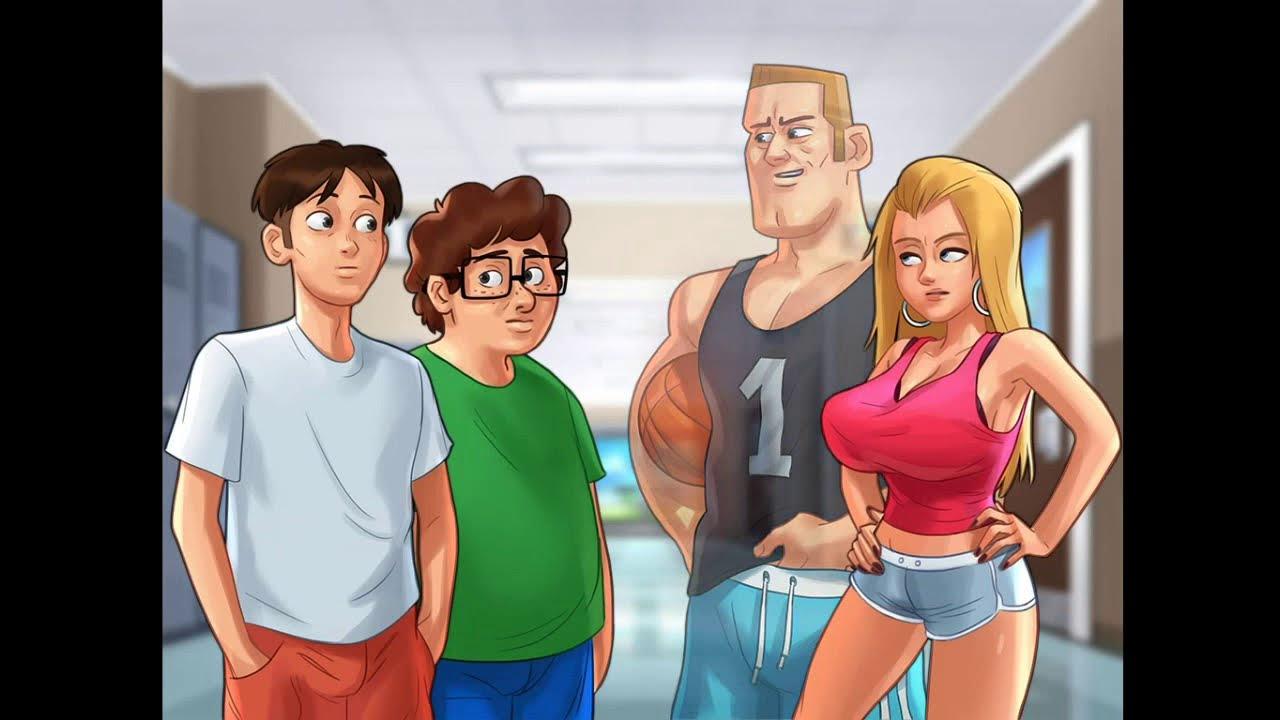 Adult Games Summertime Saga summertime saga full adult game walktrough#1 - youtube