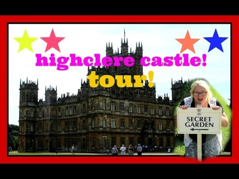 Downton Abbey! - Highclere castle tour! | yosammyvlogs