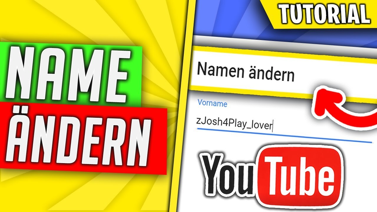 YouTube Namen ändern Handy & Pc|YouTube Kanal Namen ändern