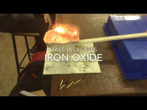 Iron + Oxygen