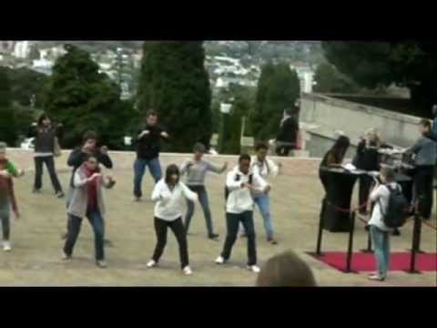 Tai Chi Flash Mob - University of Cape Town
