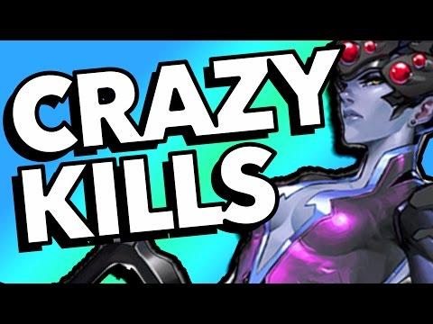 25 CRAZY KILLS - Overwatch Epic Plays Montage