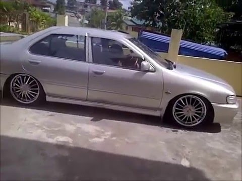 rolling in nissan b14 - YouTube