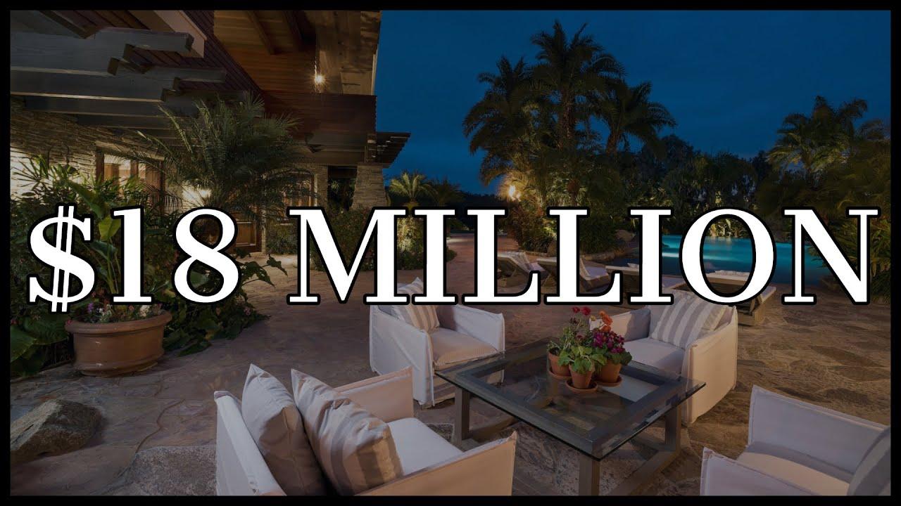 $18,000,000 BILLIONAIRES TROPICAL PARADISE (Luxury Smart Home)