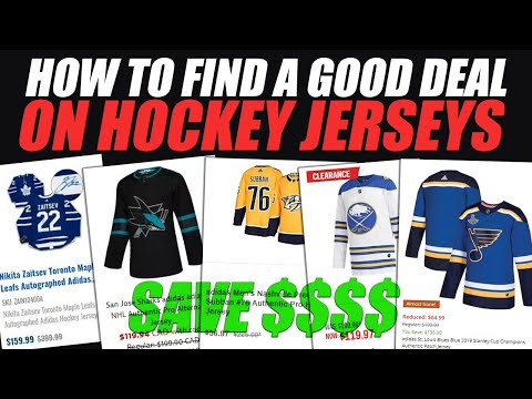 How To Find A Good Deal On Hockey Jerseys