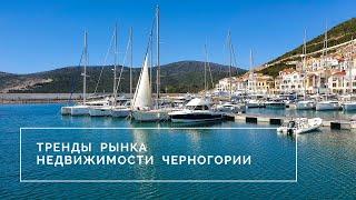 Тренды рынка недвижимости Черногории 2020