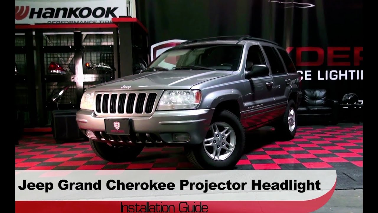 hight resolution of spyder auto installation 1999 2004 jeep grand cherokee halo cherokee spyder headlights wiring diagram