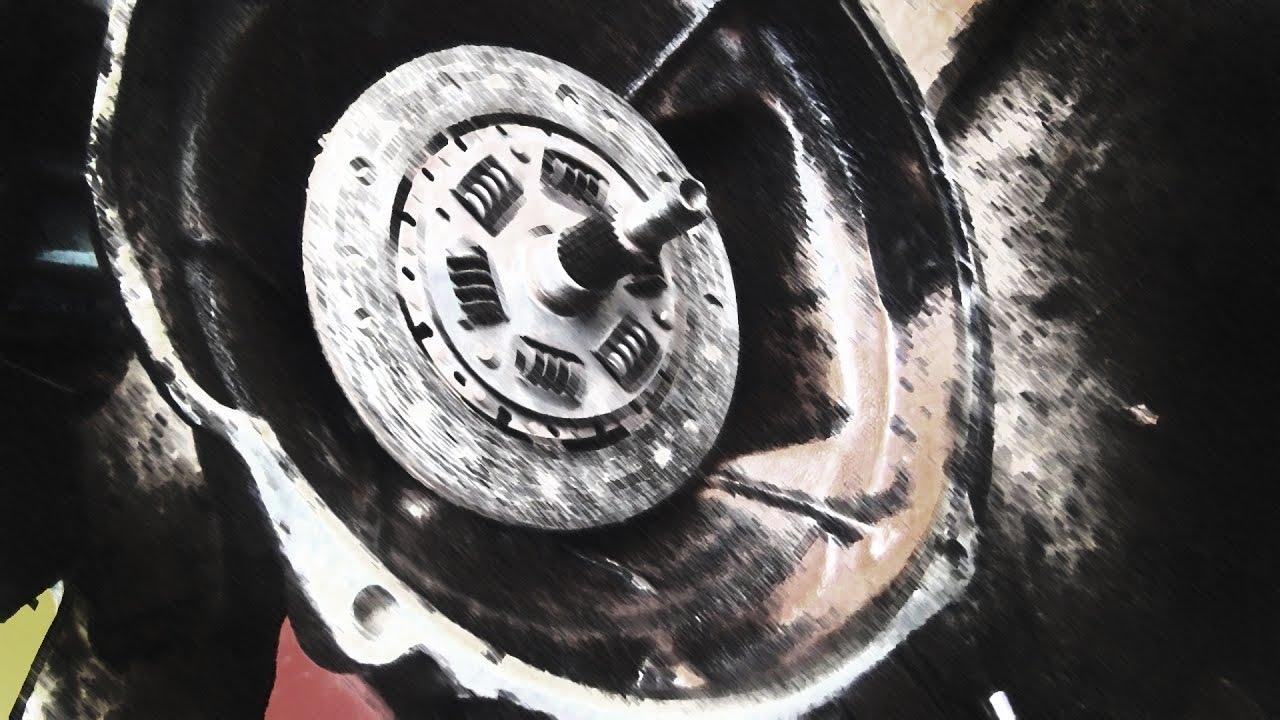 Снятие двигателя ЗАЗ 968А