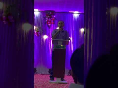 Dr Anil Suchak President Of ANA ASPEE NUTAN ACADEMY Welcome Address On ICSE  School