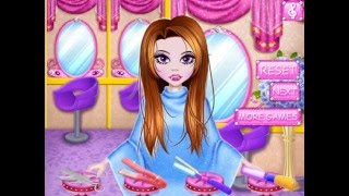 Мультик игра Парикмахерская: Прически для сестры Дракулауры (Draculaura Sister Hairstyles)