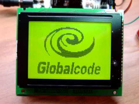 LCD grafico 240x128 con Arduino | FunnyDog TV