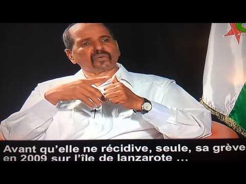 RASD,POLISARIO,le président Mohamed Abdelaziz sur Canal Algérie